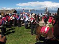 Une cérémonie Aymara